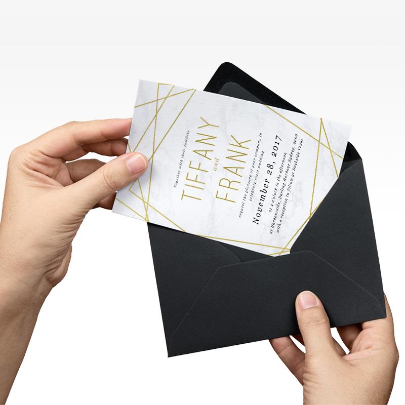 Custom wedding invitations high quality print maxi signs invitations stopboris Choice Image