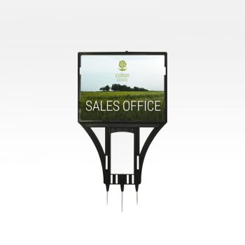 Real Estate Plastic Sign Holders